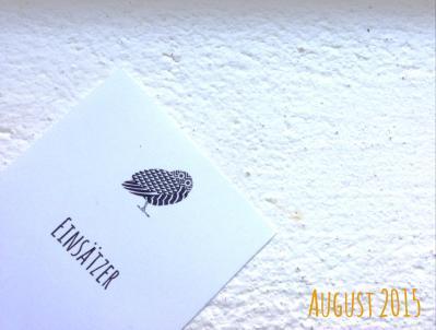 Einsätzer August