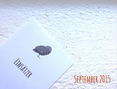 Einsätzer September